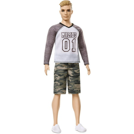 Barbie Ken Fashionistas Broad Doll 8 Camo - Babies Boutique Clothing