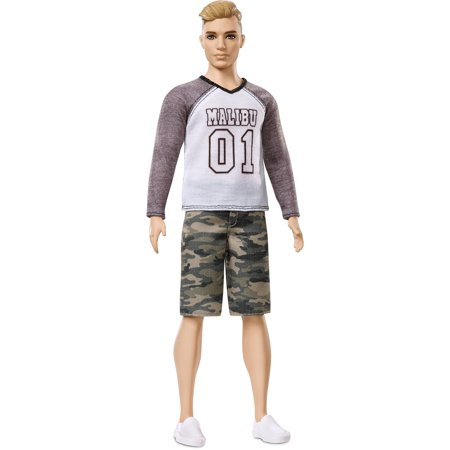 Barbie Ken Fashionistas Broad Doll 8 Camo Comeback