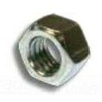 Metallics JN159 Zinc Plated Steel Hex Nut #6-32 UNC