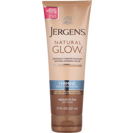 Jergens Natural Glow ((3 pack) Jergens Natural Glow +Firming Daily Moisturizer Medium to Tan, 7.5 FL)