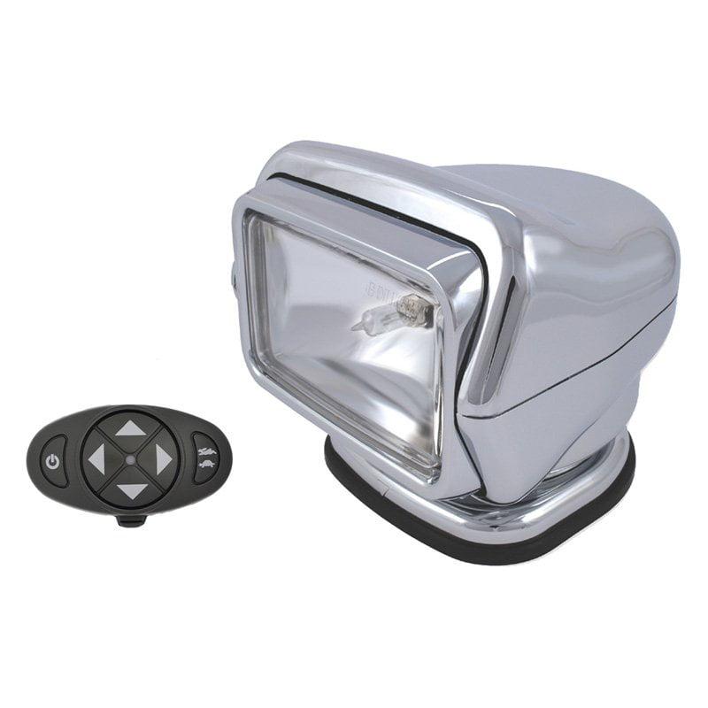 Go Light Stryker, 12V, Dash Mount, Chrome