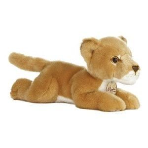 Cowardly Lioness - Lioness 11 in. Miyoni - Jungle & Safari Stuffed Animal by Aurora Plush (10848)