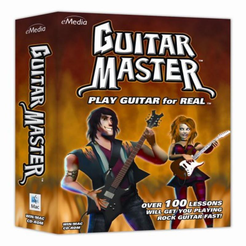 eMedia Guitar Master Instructional DVD by Emedia