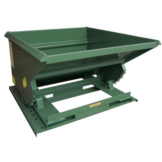 Vestil HOP-150-LD Self-Dump Light Duty Hopper 1.5 Cubic Yard, 2000 lbs