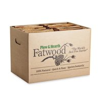 Easy-Start Fatwood Fire Starter, 25 lb. Box of Fatwood