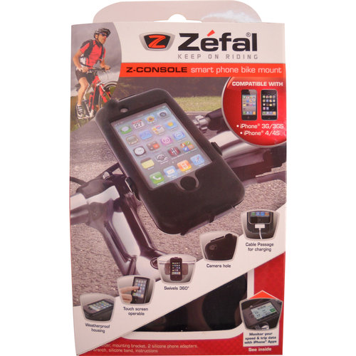 Zefal Z-Console iPhone 4 Bicycle Handlebar Case