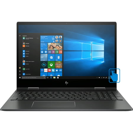 "HP ENVY x360 15-ds Home and Business Laptop (AMD Ryzen 7 4700U 8-Core, 8GB RAM, 512GB SSD, 15.6"" Touch Full HD (1920x1080), AMD Radeon Graphics, Active Pen, Wifi, Bluetooth, Webcam, Win 10 Home)"