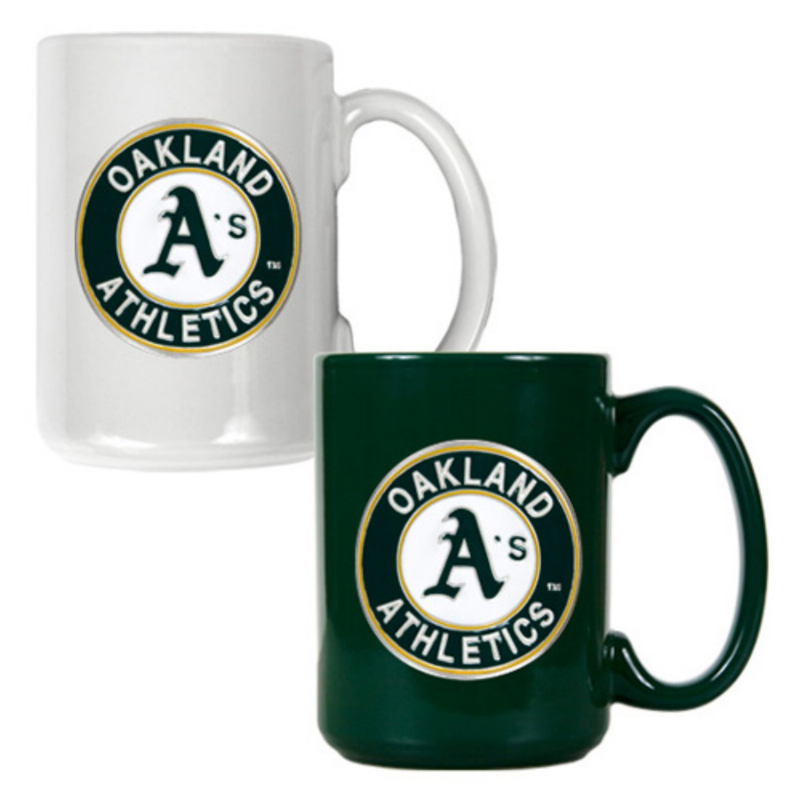 Great American MLB Logo Ceramic Mug Set