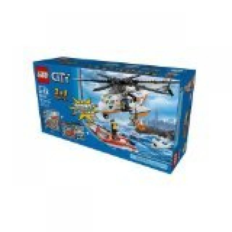 Lego City Combo Pack 3 in 1 Super Pack Set 66475