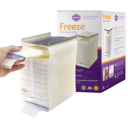 Milkies Freeze: Organize & Store Your Breast -