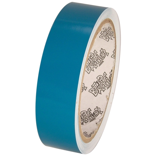 """Tape Planet 3 mil 1"""" x 10 yard Roll Teal Outdoor Vinyl Tape"""