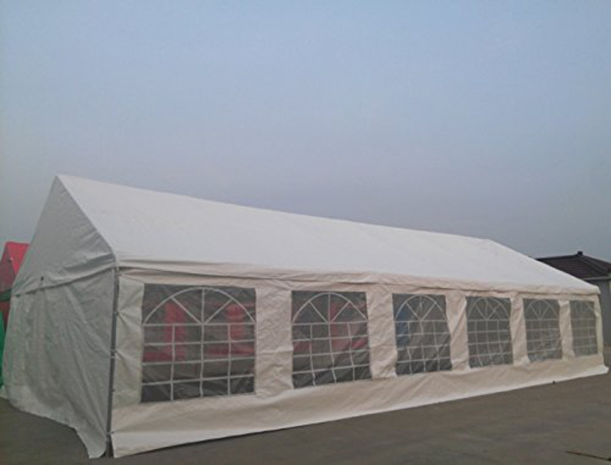 Shade Tree 20u0027 x 40u0027 Heavy Duty Event Party Wedding Tent Canopy w/Sidewalls - Walmart.com & Shade Tree 20u0027 x 40u0027 Heavy Duty Event Party Wedding Tent Canopy ...