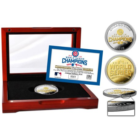 Chicago Cubs Highland Mint 2016 World Series Champions Two-Tone Coin - No Size