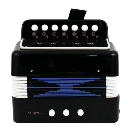 M&M 103A-BLK Accordion Child Size Black