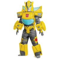 Hasbro's Transformers Boys Deluxe Bumblebee Evergreen Inflatable Halloween Costume