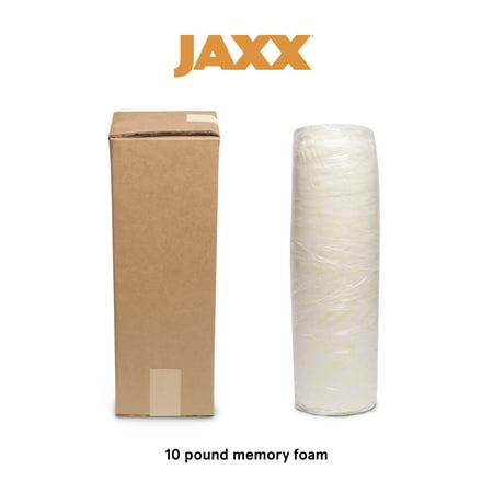 Foam Bean Bag Bed (Jaxx Shredded Memory Foam Refill - Stuffing for Pillows, Bean Bags, Dog Beds, and Cushions, 10)