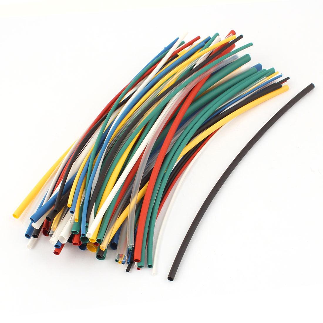 70Pcs 2:1 Heat Shrink Tube Wire Wrap Assortment Tubing Sleeve 5 Sizes Kit