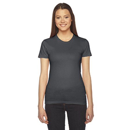 Womens Fitted Fine Jersey Tee - American Apparel Fine Jersey T-Shirt Women's 2102W