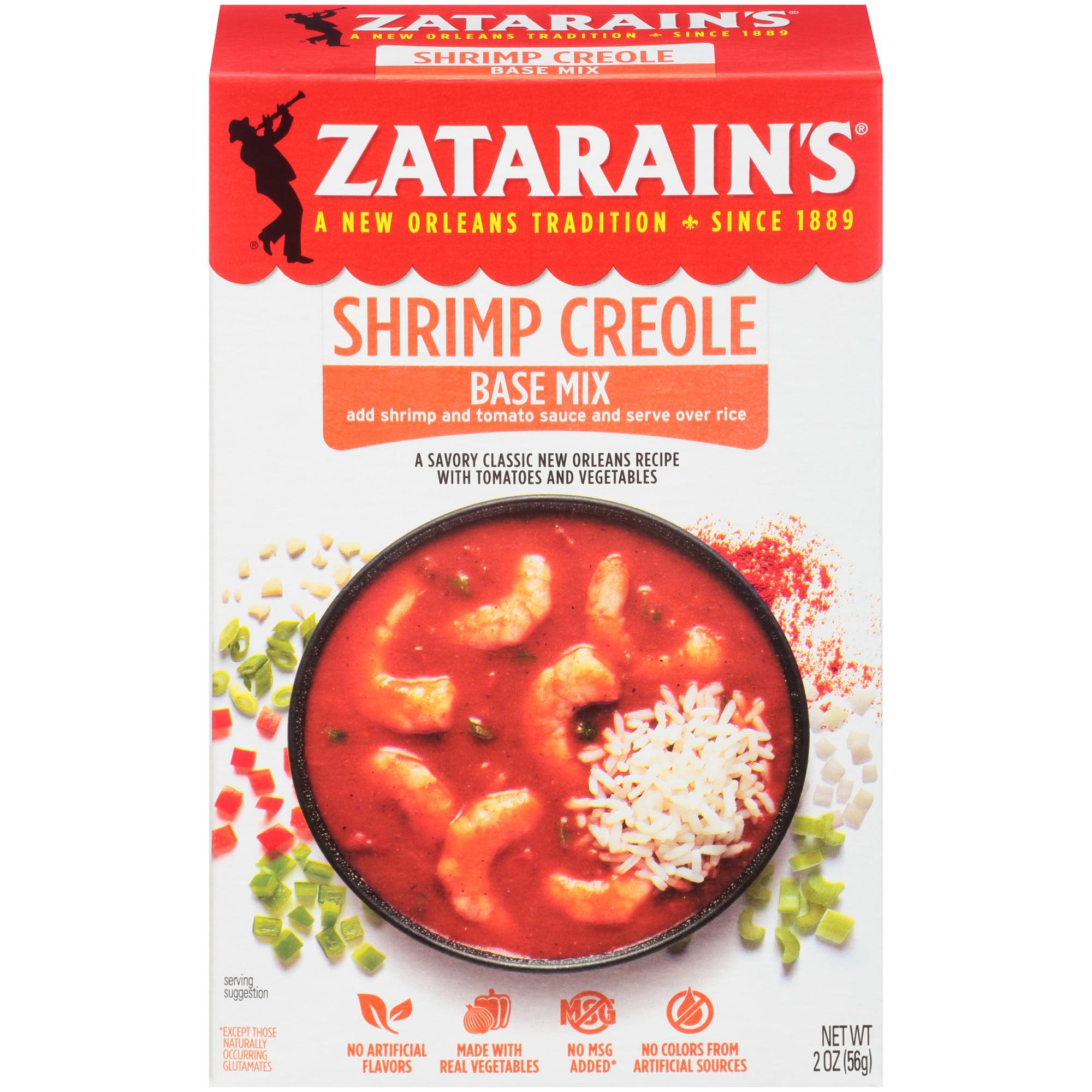 Zatarain's Shrimp Creole Base, 2 oz