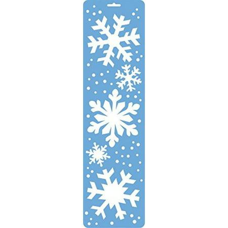 Christmas Snowflakes Stencils - 7 Sizes