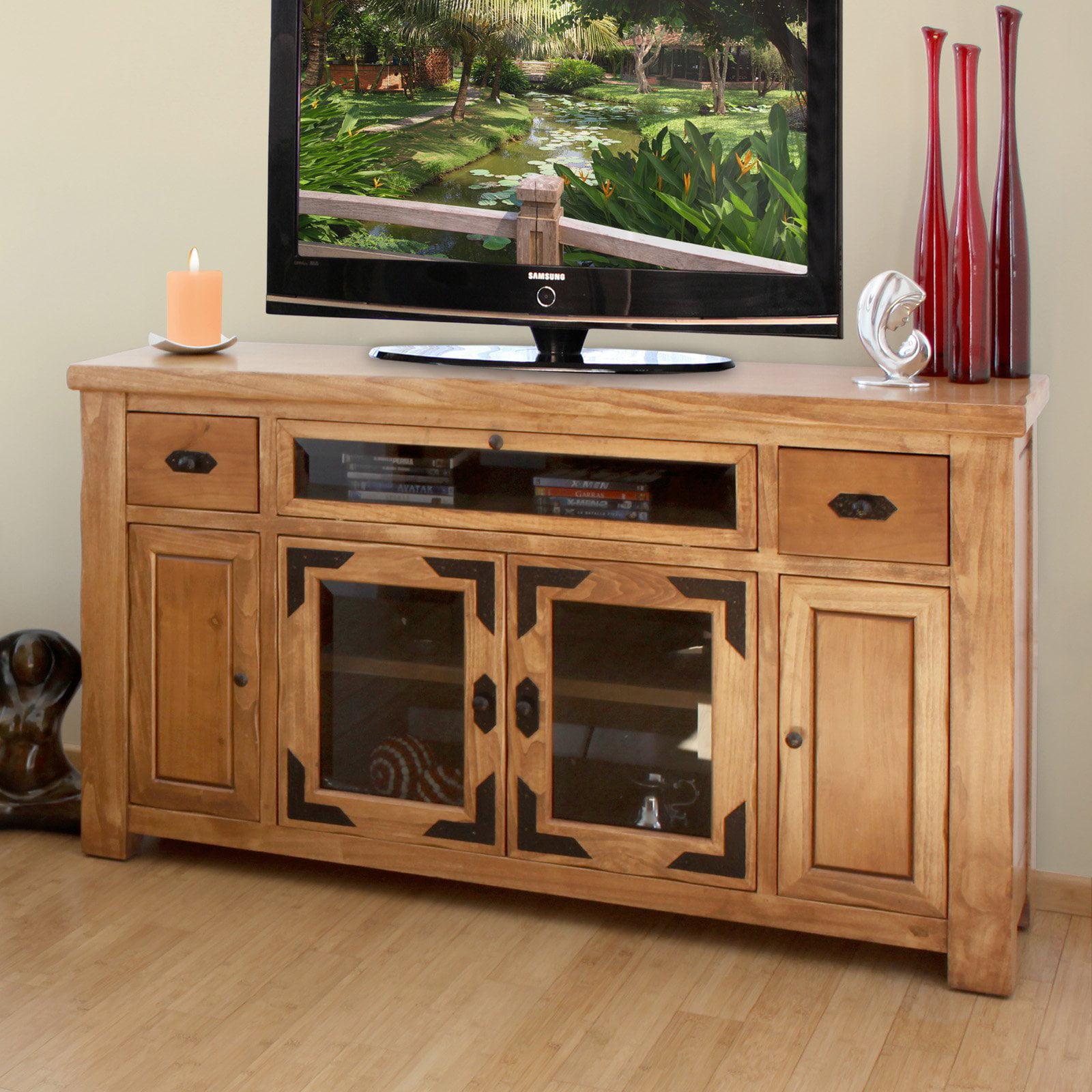 Artisan Home Furniture Lodge 62 in TV Console Walmart