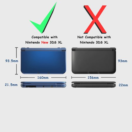 Nintendo New 3DS LL/3DS XL Case, by Insten TPU Gel Case Cover For Nintendo New 3DS LL/3DS XL, Clear - image 5 de 8