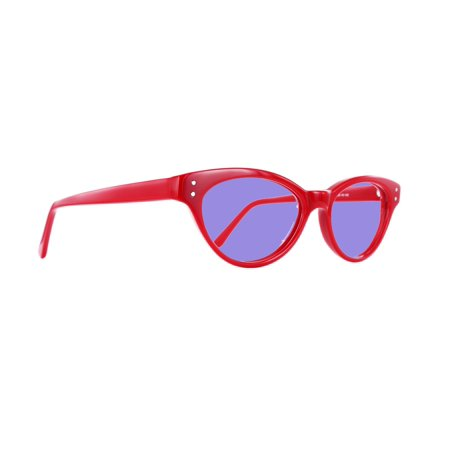 Sodium Flare Polycarbonate Lampworking Glasses in Geek Unisex Plastic Frame - (Geek Wear Glasses)