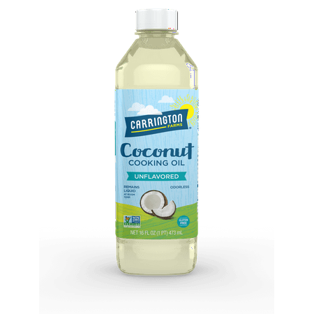 Carrington Farms Coconut Cooking Oil, 16.0 FL OZ