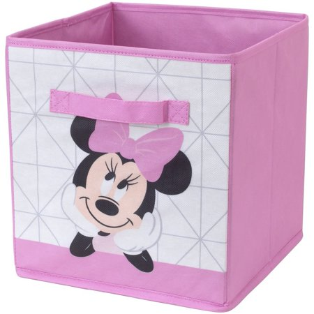 Disney Minnie Mouse Collapsible Storage Bin (Minnie Mouse Container)
