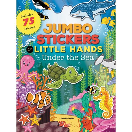 Jumbo Stickers for Little Hands: Under the Sea (Little Mermaid Snow Globe Under The Sea)