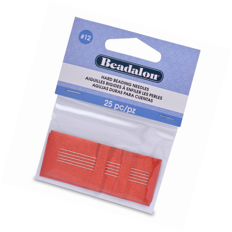 Beadalon #12 12-Piece// 2 Threader Hard Needles