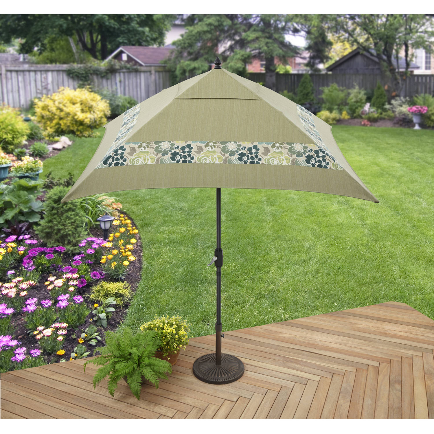 Better Homes and Gardens Jade Avenue Umbrella by Hangzhou Jinshi Hardware Co., Ltd.