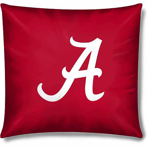 "NCAA Alabama Crimson Tide Official 15"" Toss Pillow"