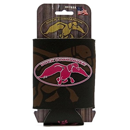 Duck Dynasty Logo Can Cooler Cooler Brown With Pink Logo](Duck Dynasty Fake Beards For Sale)