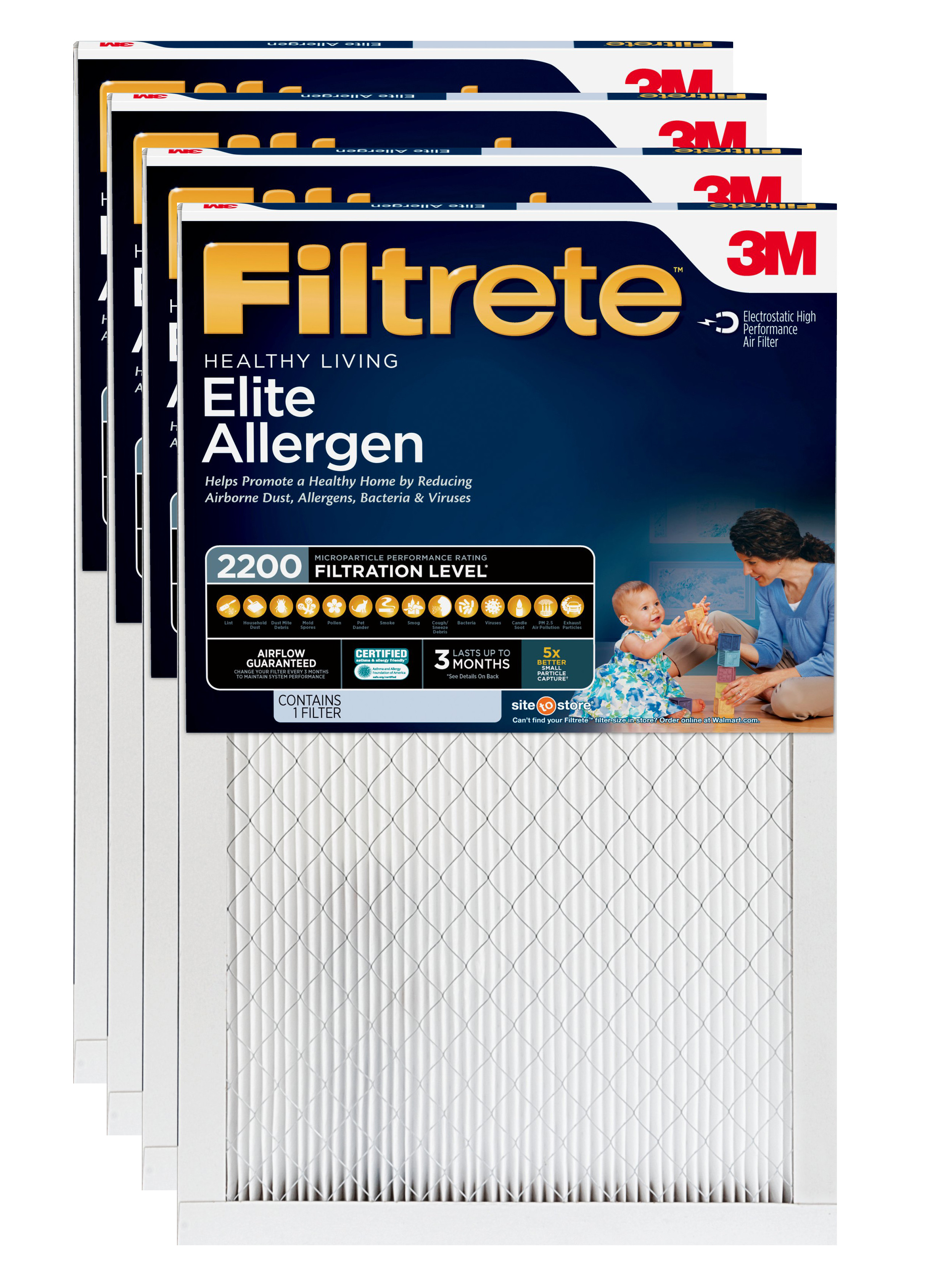 Nordic Pure 16x36x1 Exact MERV 8 Pure Carbon Pleated Odor Reduction AC Furnace Air Filters 2 Pack