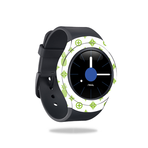 Skin Decal Wrap for Samsung Gear S2 Smart Watch cover sticker Lime