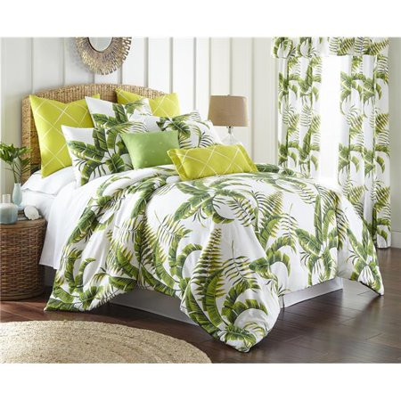 Tropic Bay Non Reversible Comforter Set - Queen Size