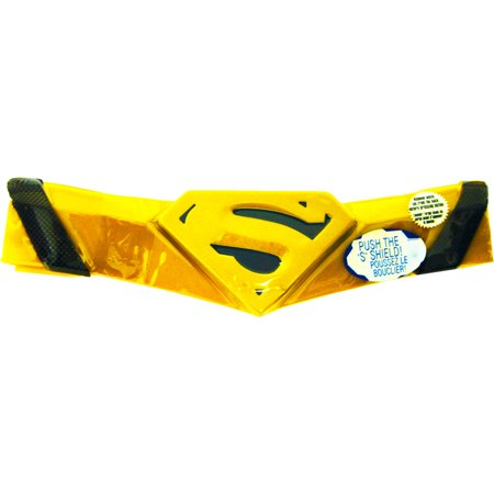 Morris Costumes Kids Unisex New Superman Child Deluxe Belt One Size, Style RU6517](Costume Belts)