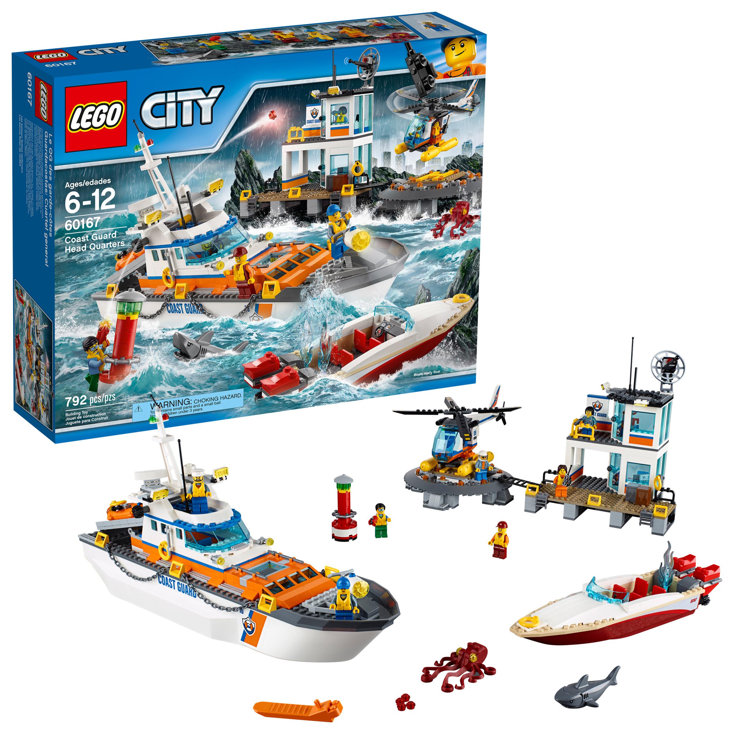 LEGO City Coast Guard Coast Guard Head Quarters 60167