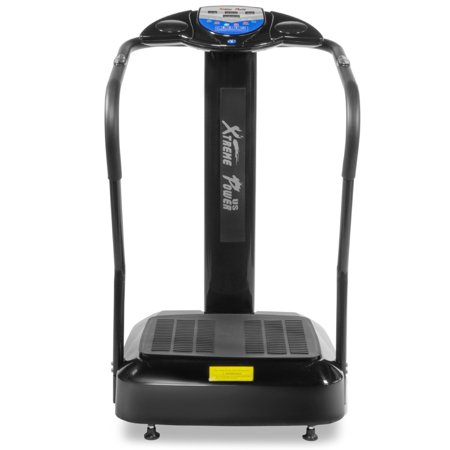 XtremepowerUS 2000W Crazy Fit Fitness Whole Body Vibration Plate Exercise Platform Massage Machine,
