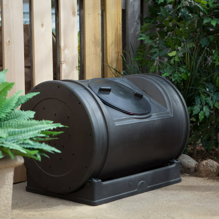 Good Ideas 52 Gal. Compost Wizard Jr. – Black (Good Ideas Compost Bin)