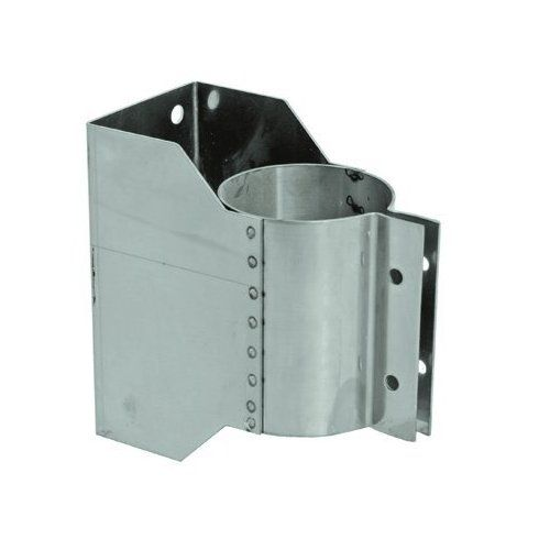 Stainless Steel Wall Bracket for 14 inch Vent Pipe