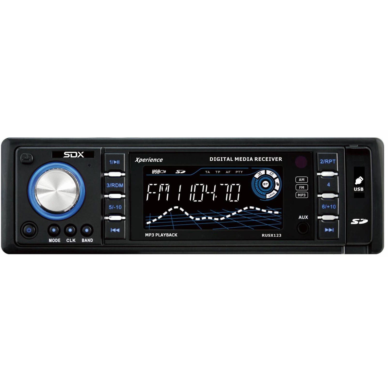 SDX Mechless Radio Receiver and Digital Music Player
