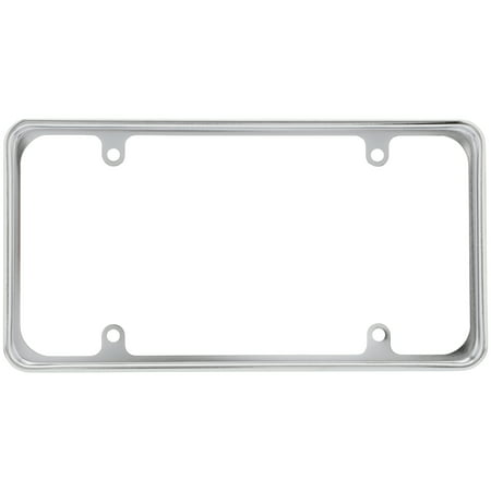 Cruiser Accessories® Perimeter⢠License Plate Frame Cruiser Acrylic License Plate Bubble