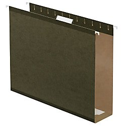 Office Depot Box Bottom Hanging File Folders, 2in. Expansion, Legal Size, Standard Green, Pack Of 25, 406090OD (Office Depot Nearby)