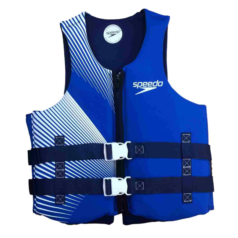 Speedo Mens Blue & White Neoprene Life Vest PDF LifeJacket XL XXL by