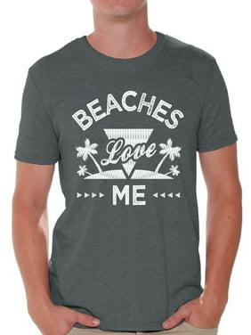 9afc7ba7 Product Image Awkward Styles Beaches Love Me Men Shirt Hawaiian Shirts  Funny Beach Outfit Summer Shirt Vacation Tshirt
