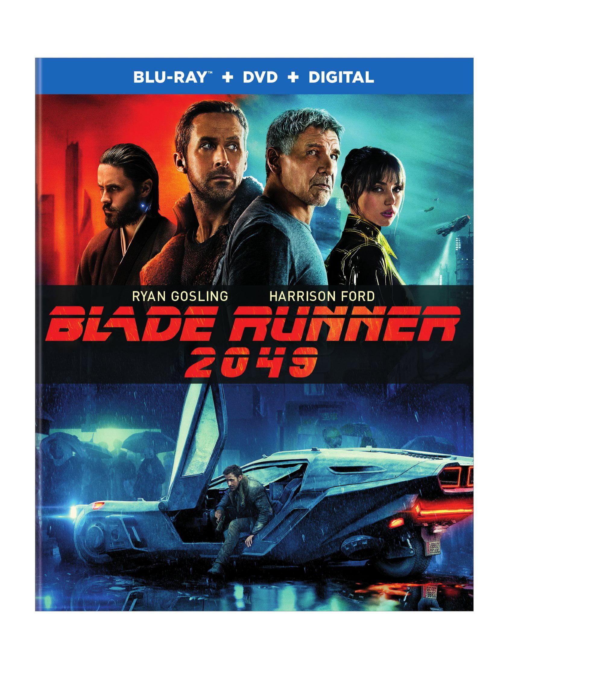 Blade Runner 2049 (Walmart Exclusive) (Blu-ray + DVD + Digital HD) by