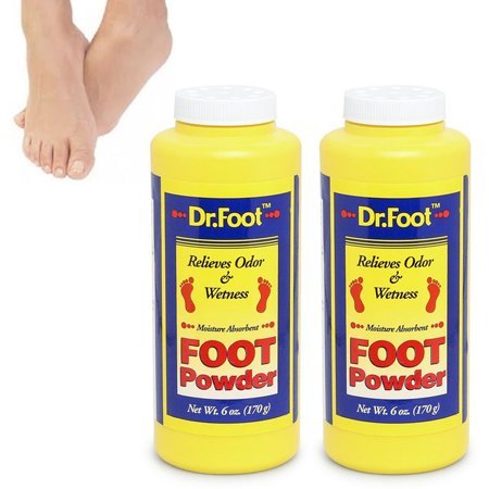Moisture Absorbent (2 Foot Powder Relieves Odor Wetness Moisture Absorbent Cools Comforts feet 12 oz)