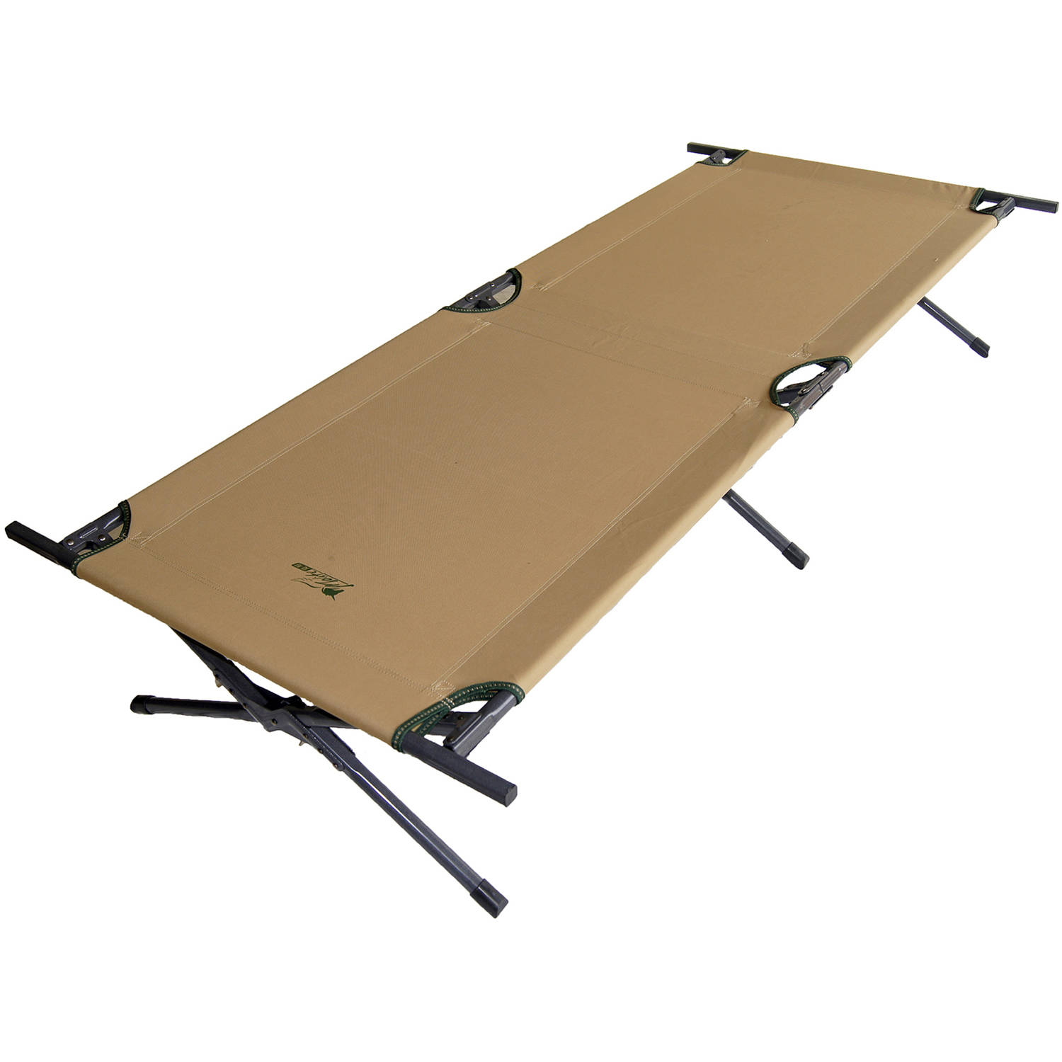 "Click here to buy 15"" Brown Camping Cot by ORE INTERNATIONAL INC."